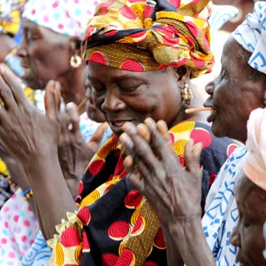 Research Women Dancing in Senegal